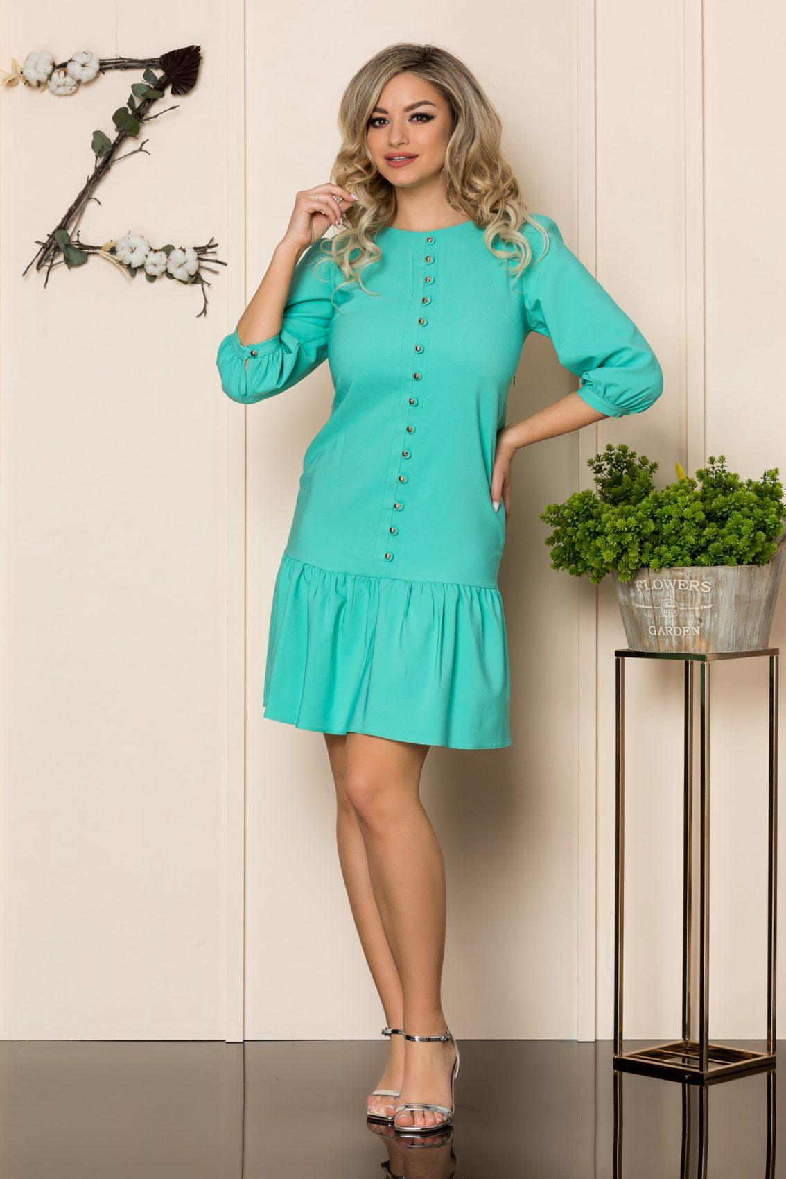 Βεραμάν Φόρεμα Με Βολάν Renata 1029 1