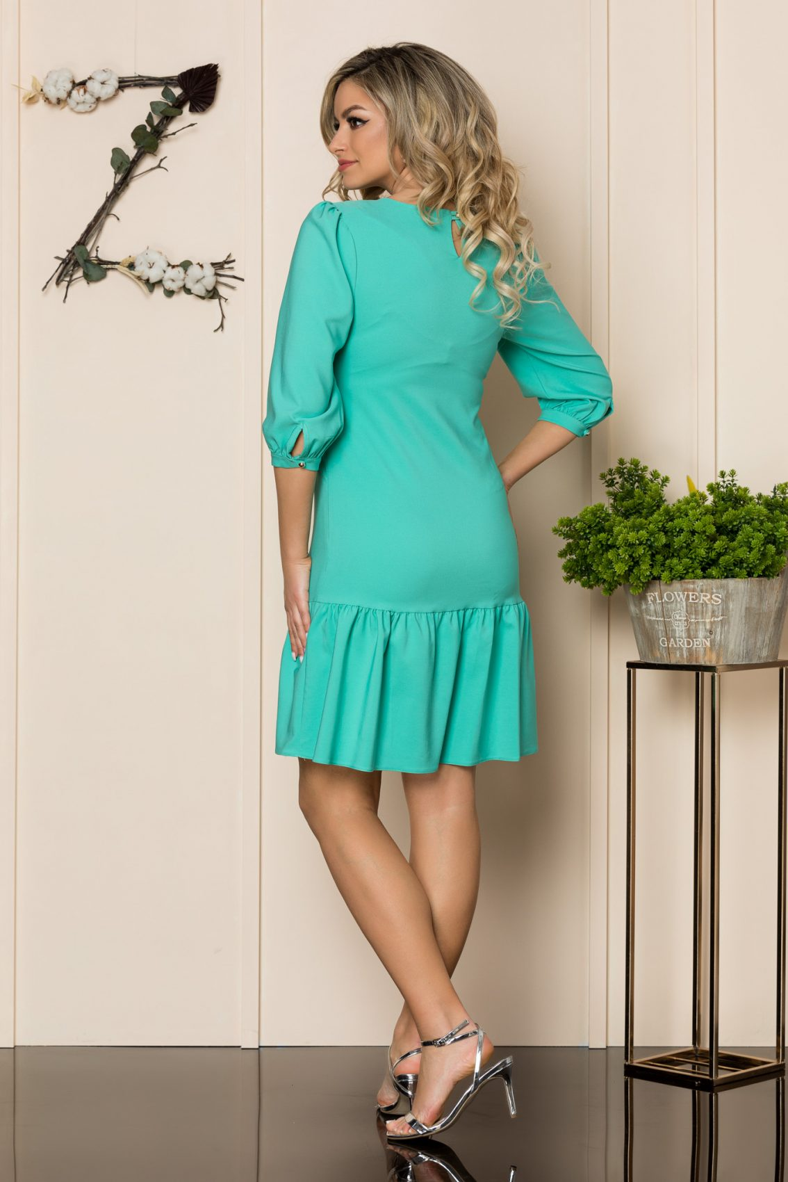 Βεραμάν Φόρεμα Με Βολάν Renata 1029 2