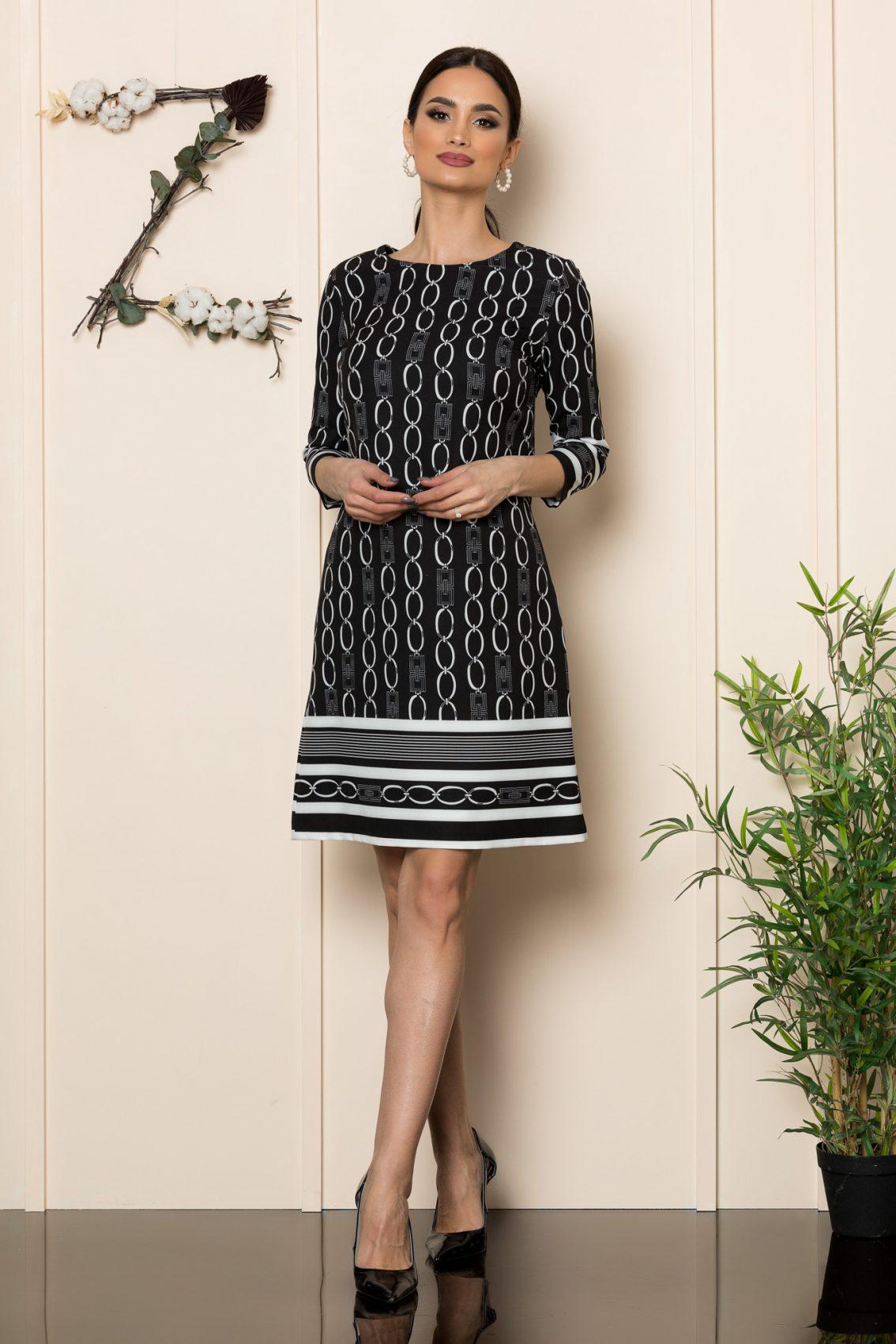 Μαύρο Φόρεμα Adena 1099 1