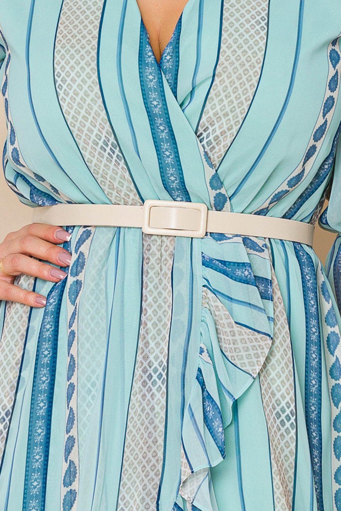 Μέντα Μίνι Φόρεμα Malinka A107 3