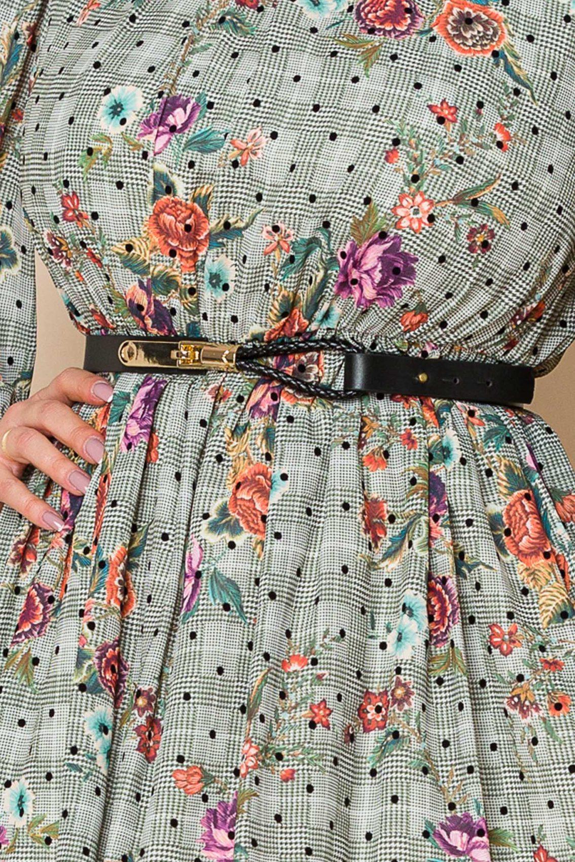 Βεραμάν Εμπριμέ Φόρεμα Claudine A110 3