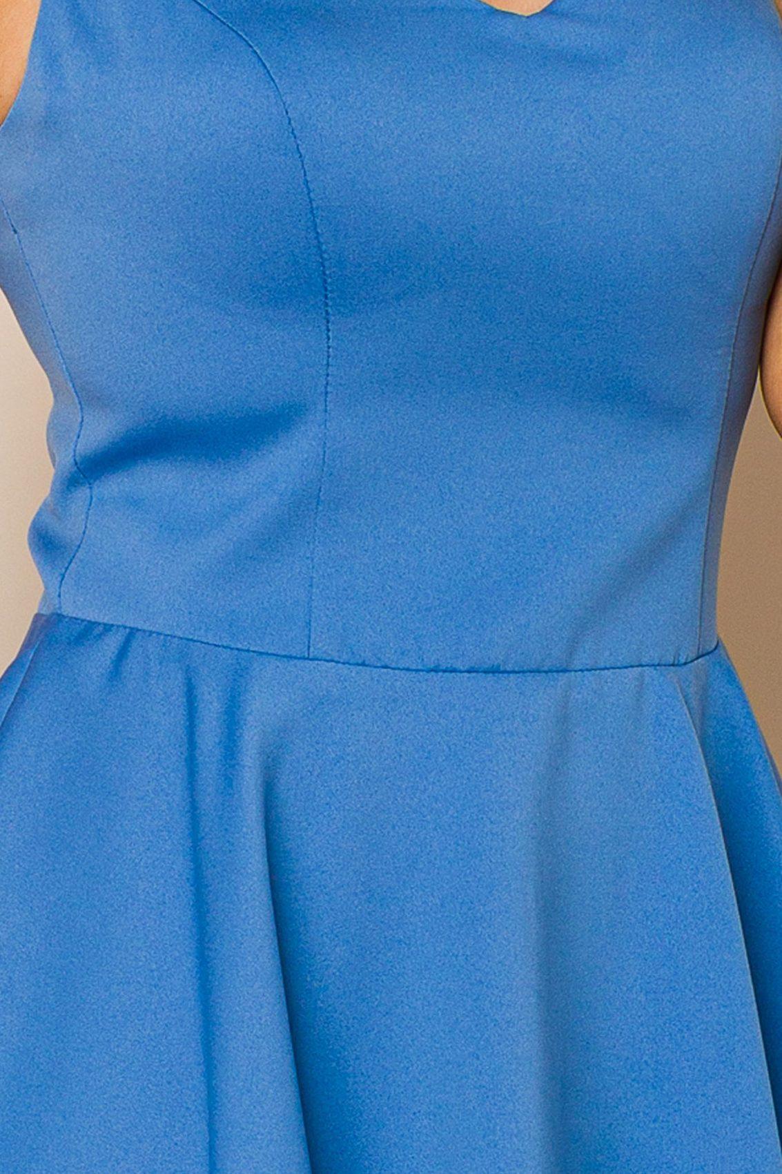 Μπλε Αμάνικο Φόρεμα Querida 9875 3