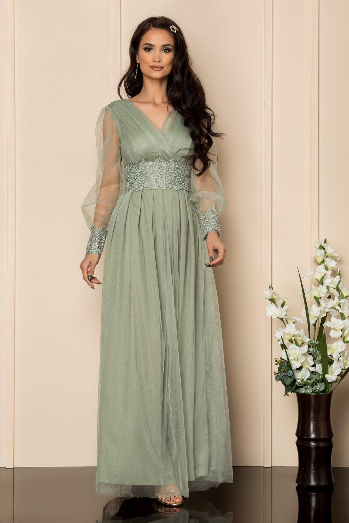 Βεραμάν Μάξι Φόρεμα Με Δαντέλα Festina A314 1