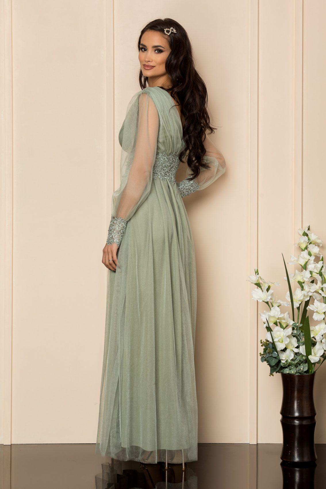 Βεραμάν Μάξι Φόρεμα Με Δαντέλα Festina A314 2