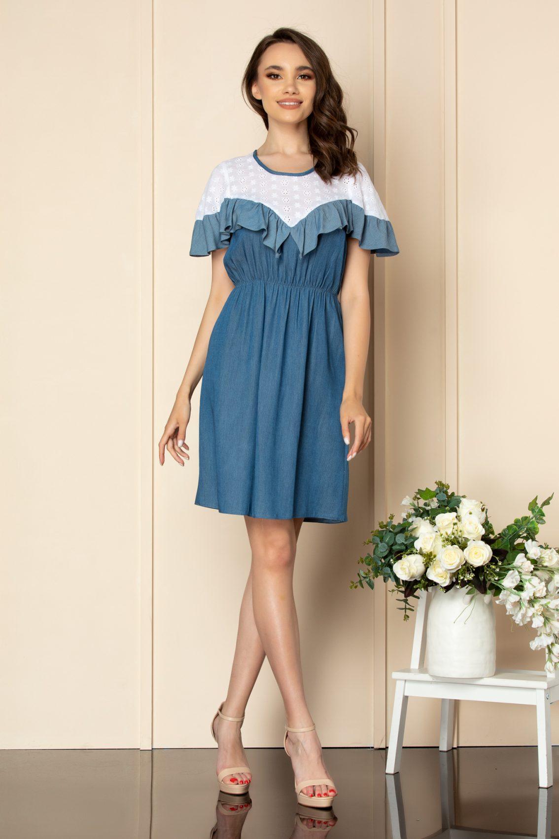 Μπλε Φόρεμα Enola A575 1