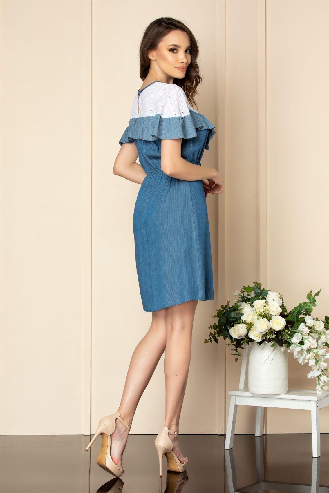 Μπλε Φόρεμα Enola A575 2