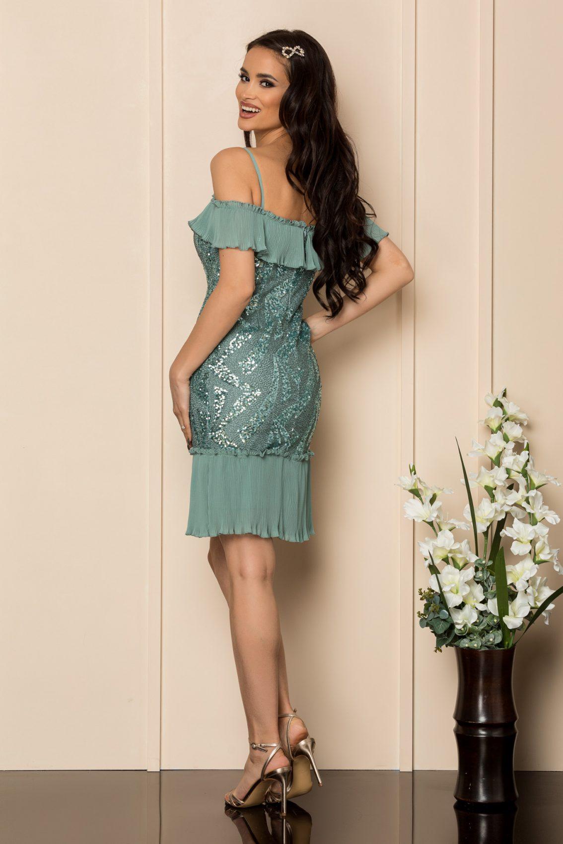Βεραμάν Αμπιγιέ Φόρεμα Με Χάντρες Rosalinda A318 2