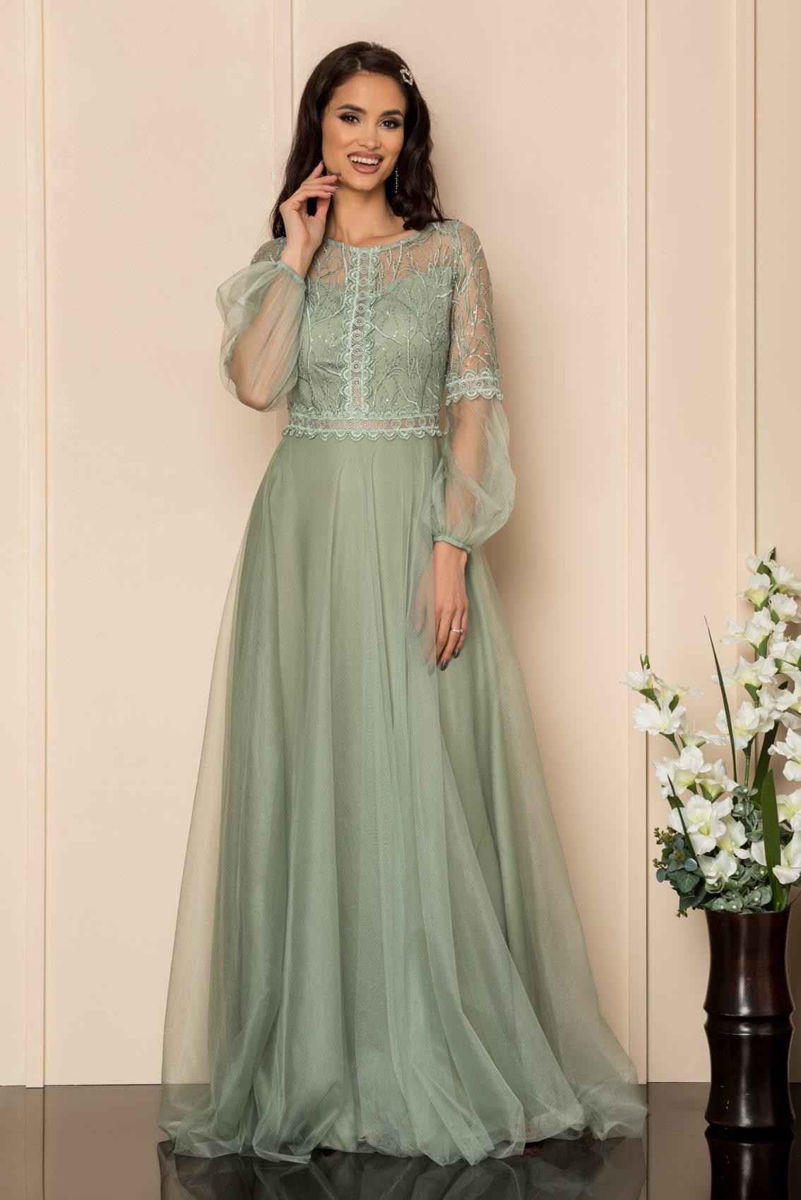 Βεραμάν Μάξι Αμπιγιέ Φόρεμα Glamour A326 1