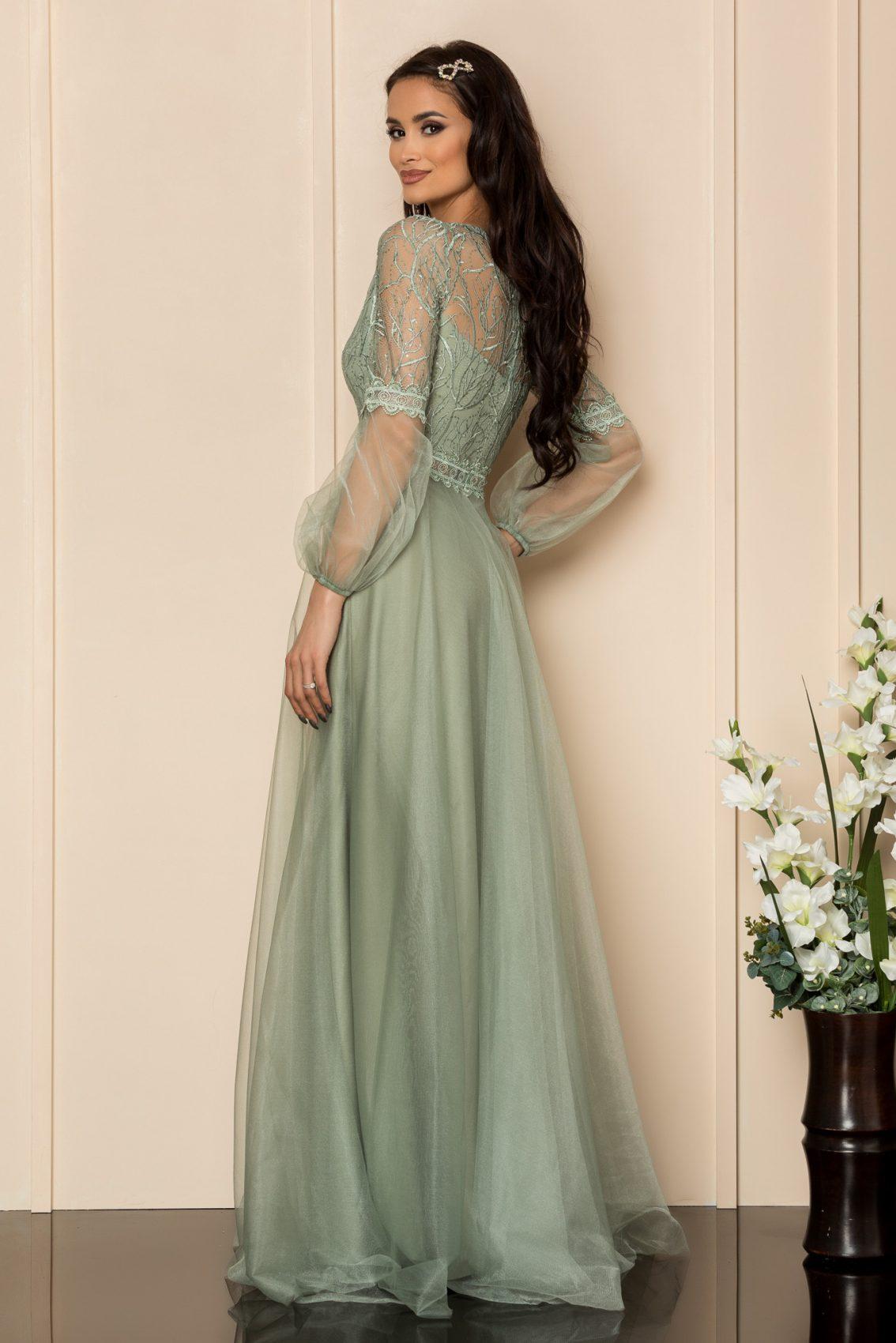 Βεραμάν Μάξι Αμπιγιέ Φόρεμα Glamour A326 2