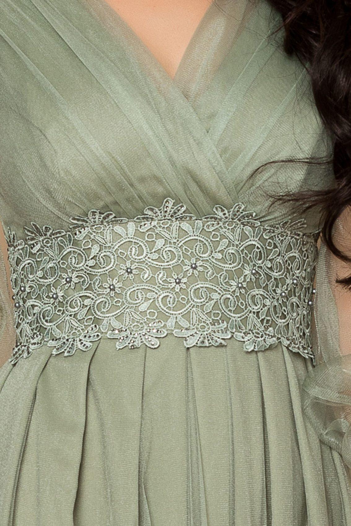 Βεραμάν Μάξι Φόρεμα Με Δαντέλα Festina A314 3