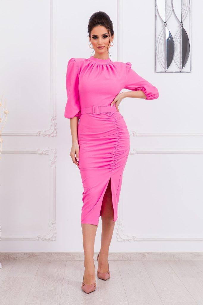 Ροζ φόρεμα | Πώς θα πετύχετε μια τέλεια εμφάνιση 9