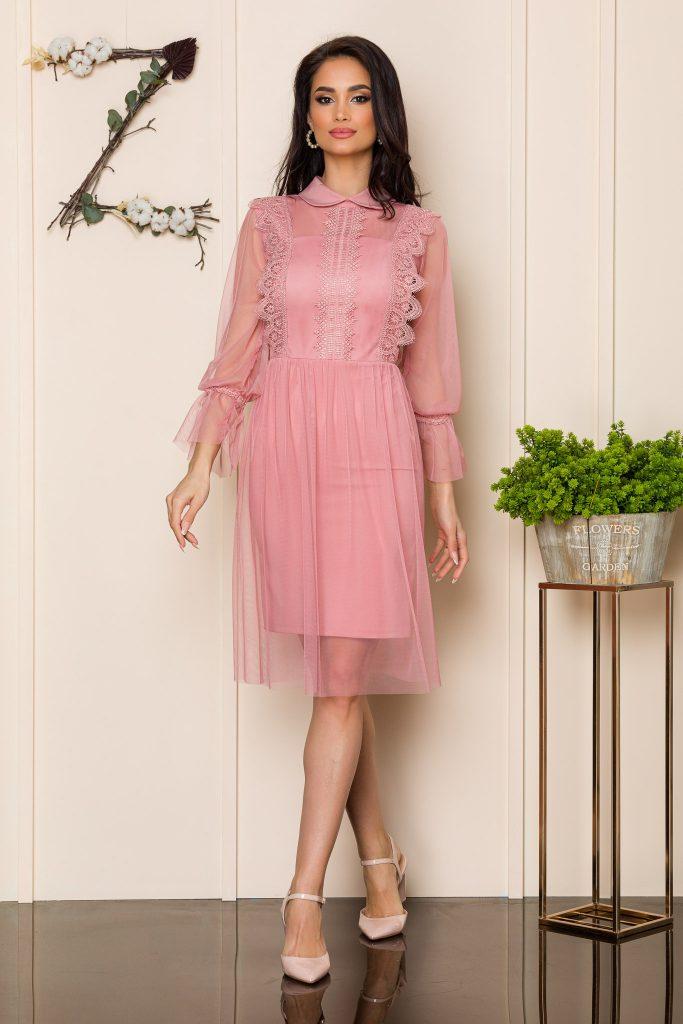 Ροζ φόρεμα | Πώς θα πετύχετε μια τέλεια εμφάνιση 3