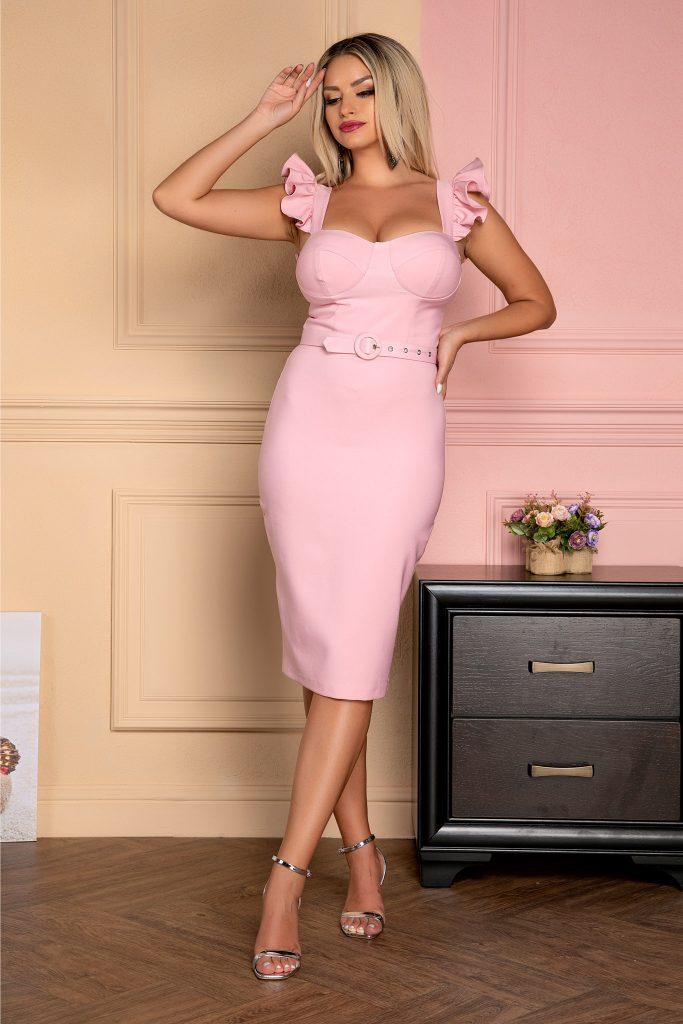 Ροζ φόρεμα | Πώς θα πετύχετε μια τέλεια εμφάνιση 11