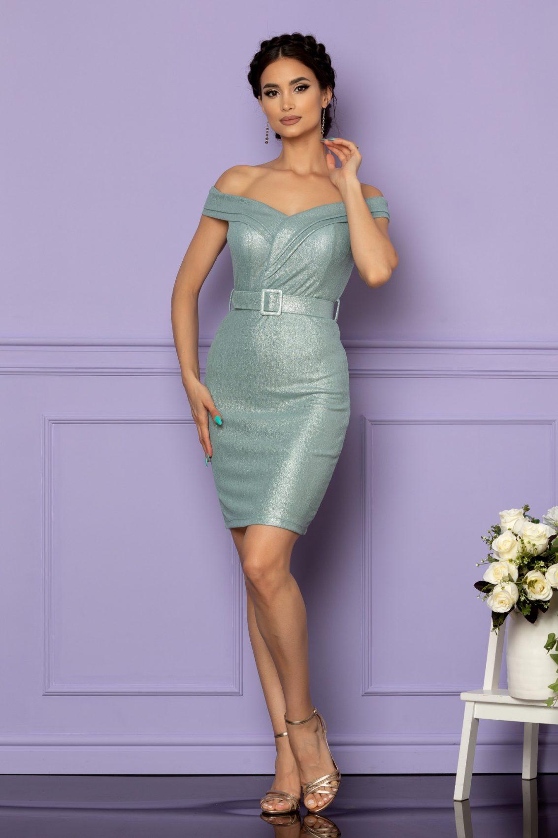 Μέντα Αμπιγιέ Φόρεμα Sexxy A624 1
