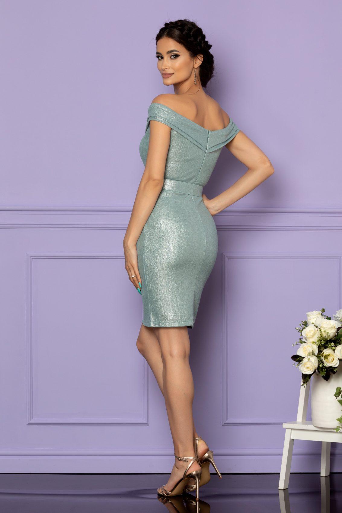 Μέντα Αμπιγιέ Φόρεμα Sexxy A624 2