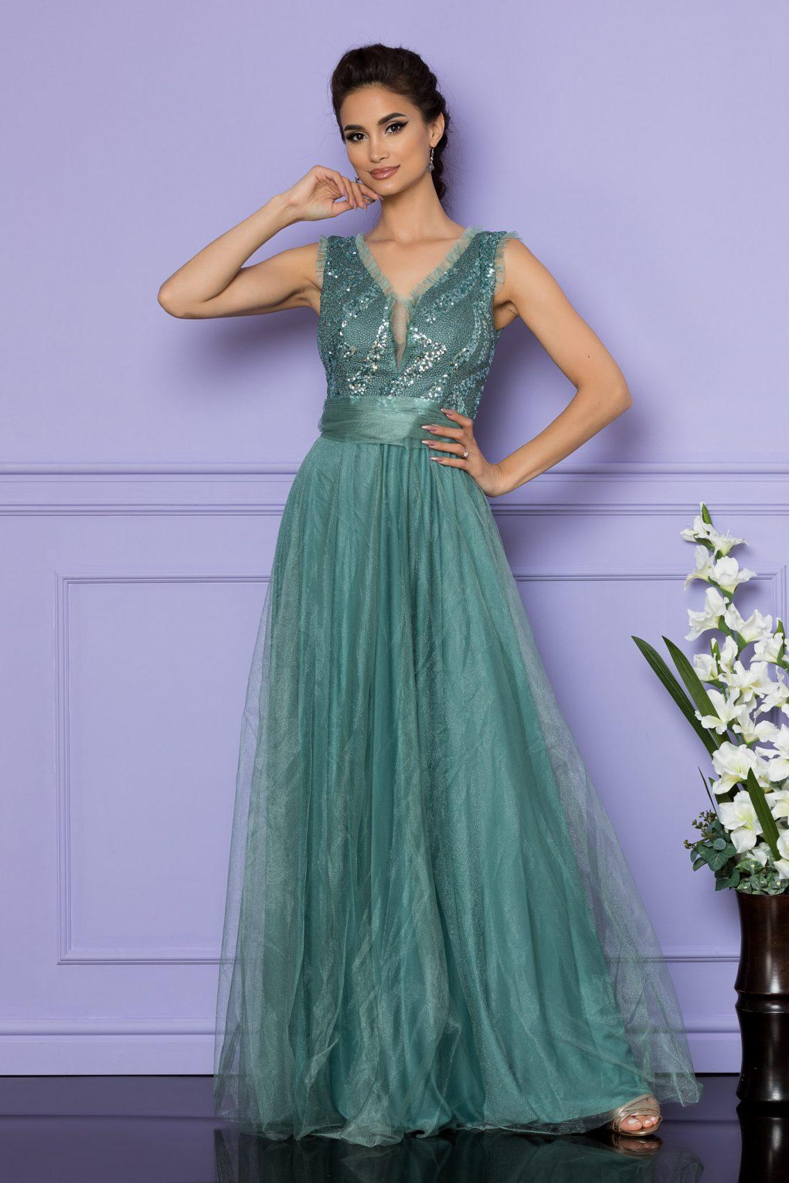 Βεραμάν Μάξι Αμπιγιέ Φόρεμα Secret A708 1