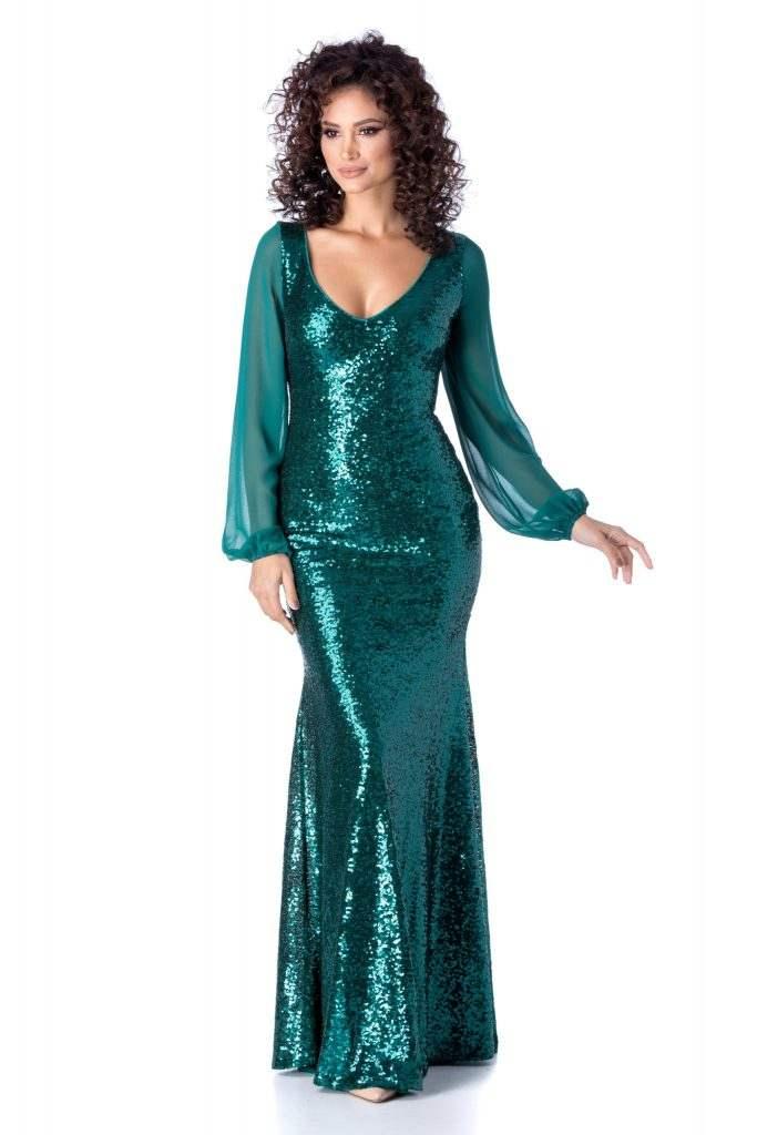Πράσινο φόρεμα | Πώς μπορείς να το συνδυάσεις 18