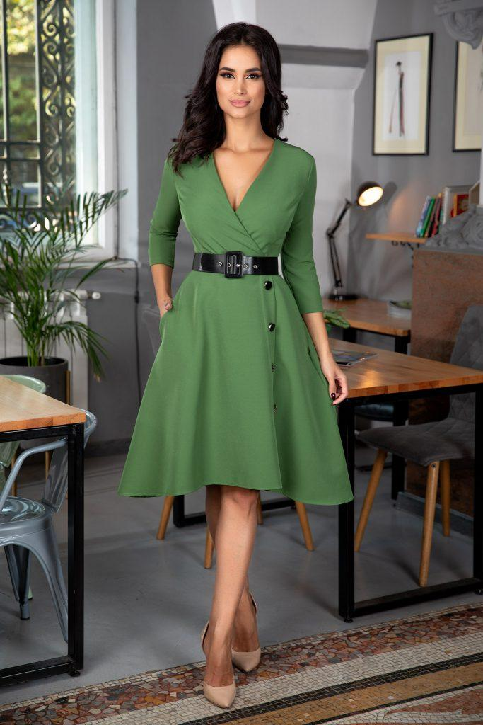 Πράσινο φόρεμα | Πώς μπορείς να το συνδυάσεις 15
