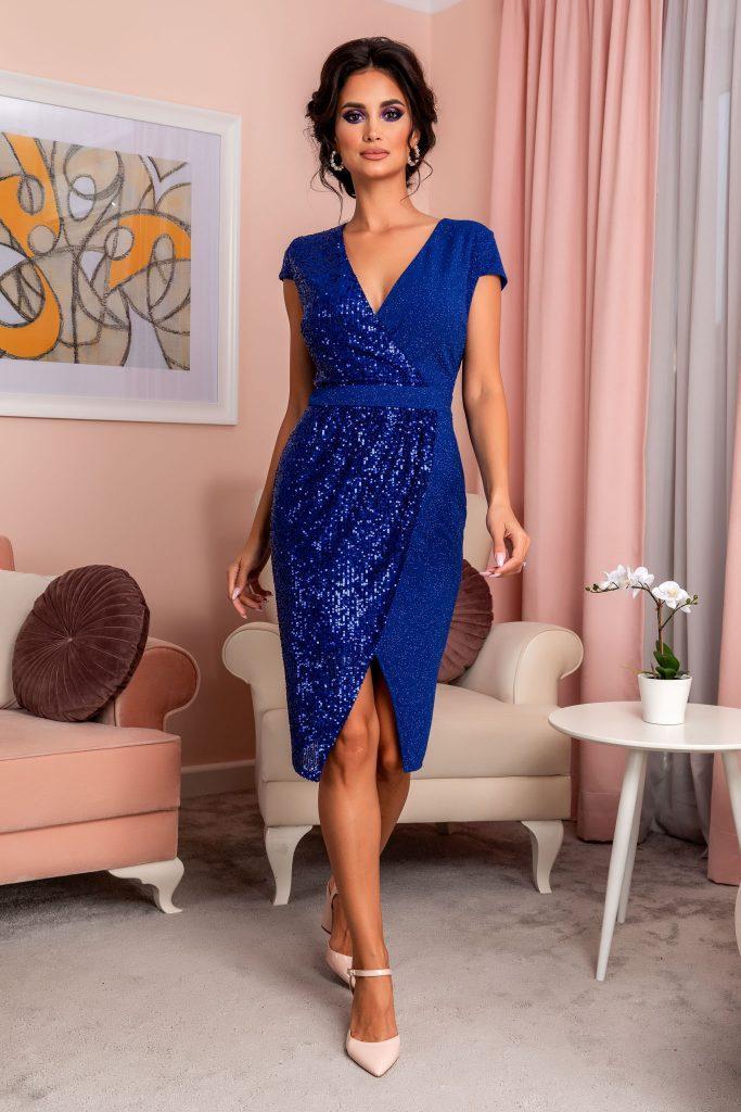 Μπλε φόρεμα 19