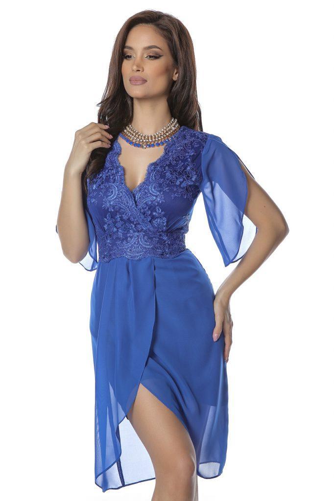Μπλε φόρεμα 2