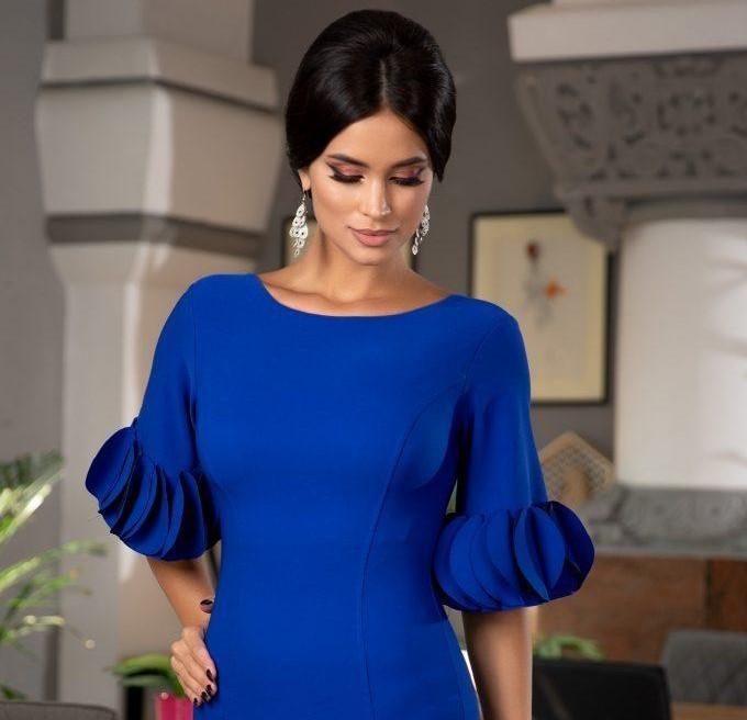 Μπλε φόρεμα 1