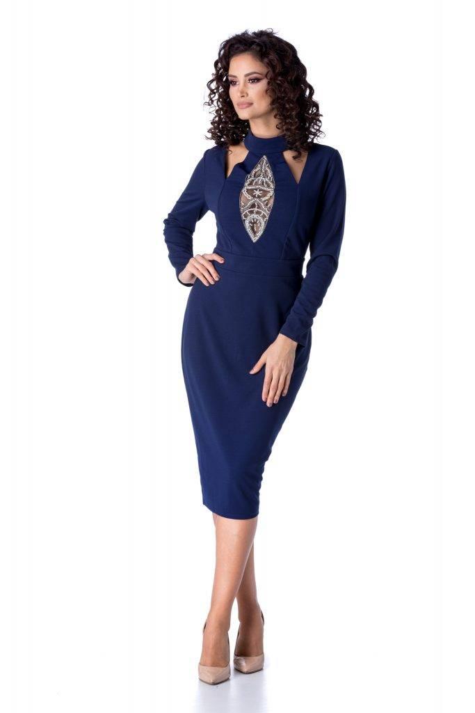 Μπλε φόρεμα 11