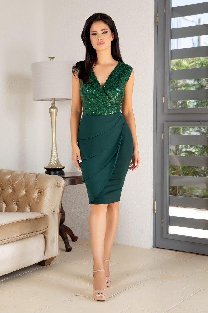 Πράσινο φόρεμα | Πώς μπορείς να το συνδυάσεις 7