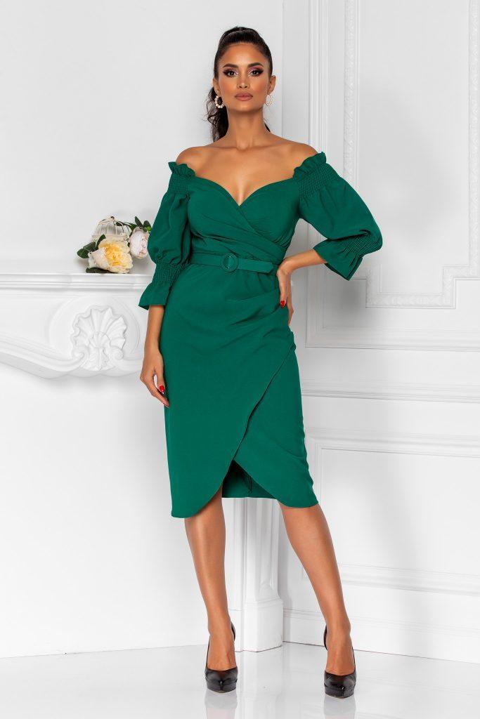 Πράσινο φόρεμα | Πώς μπορείς να το συνδυάσεις 5