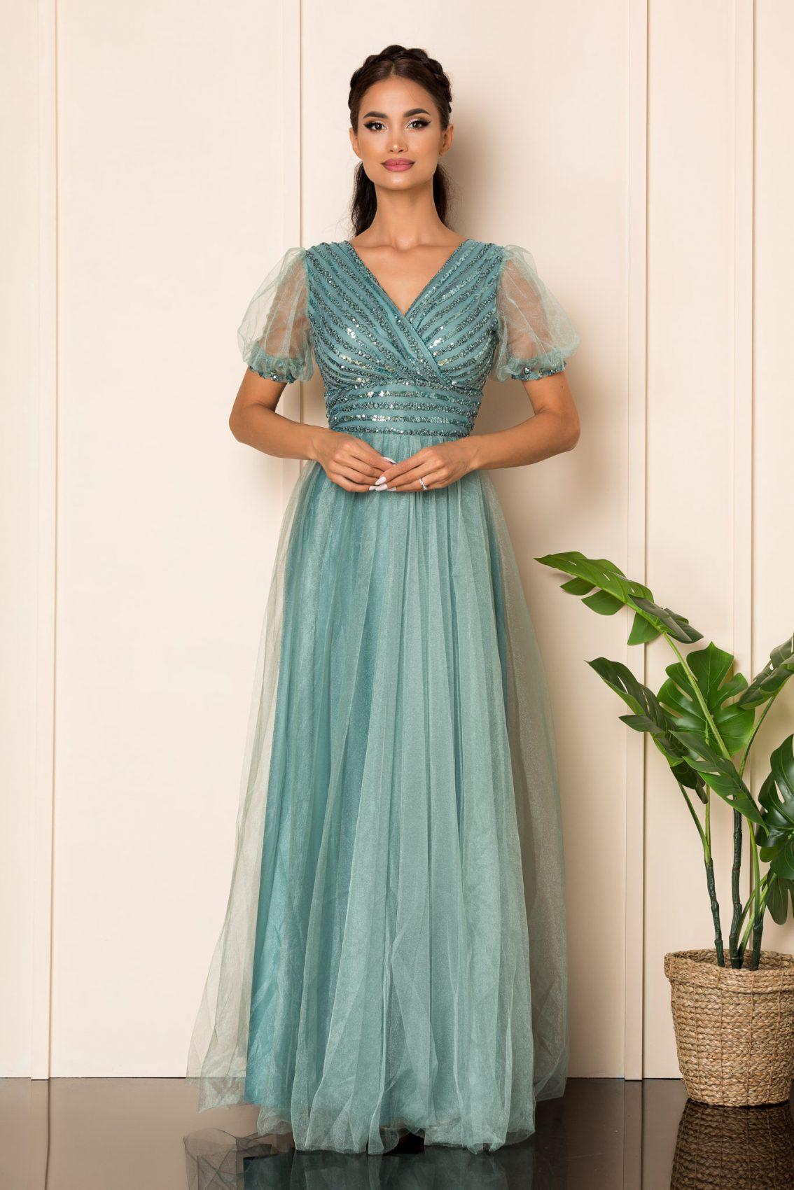 Βεραμάν Μάξι Αμπιγιέ Φόρεμα Artemis A794 1