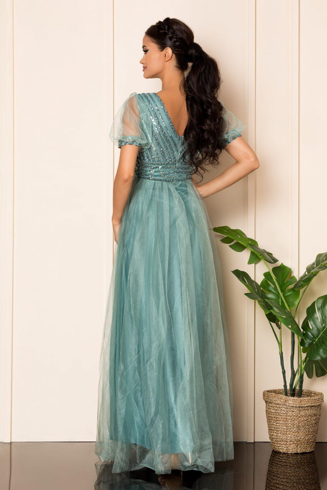 Βεραμάν Μάξι Αμπιγιέ Φόρεμα Artemis A794 2