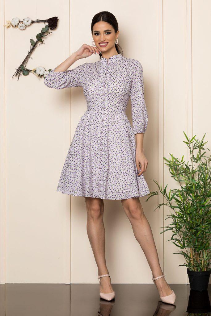 Σεμιζιέ φορέματα   Φορέματα με κουμπιά 4