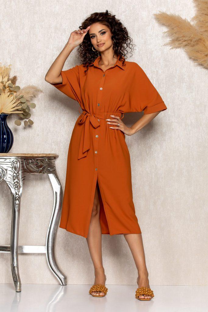 Σεμιζιέ φορέματα   Φορέματα με κουμπιά 2