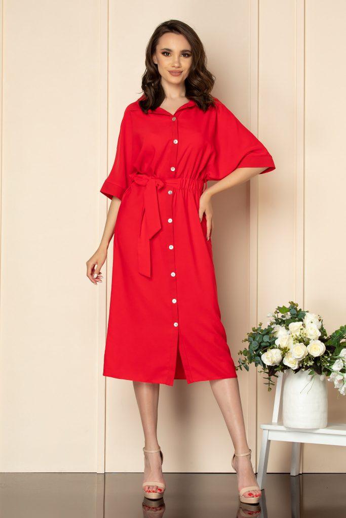 Σεμιζιέ φορέματα   Φορέματα με κουμπιά 9