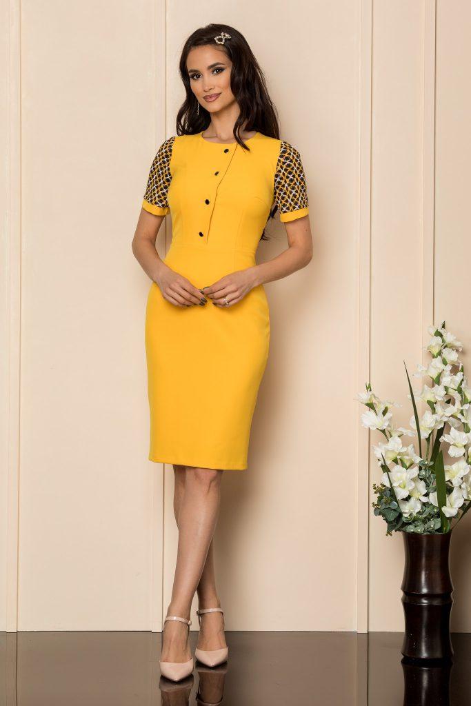 Κίτρινο Φόρεμα   Στυλιστικές Προτάσεις 17