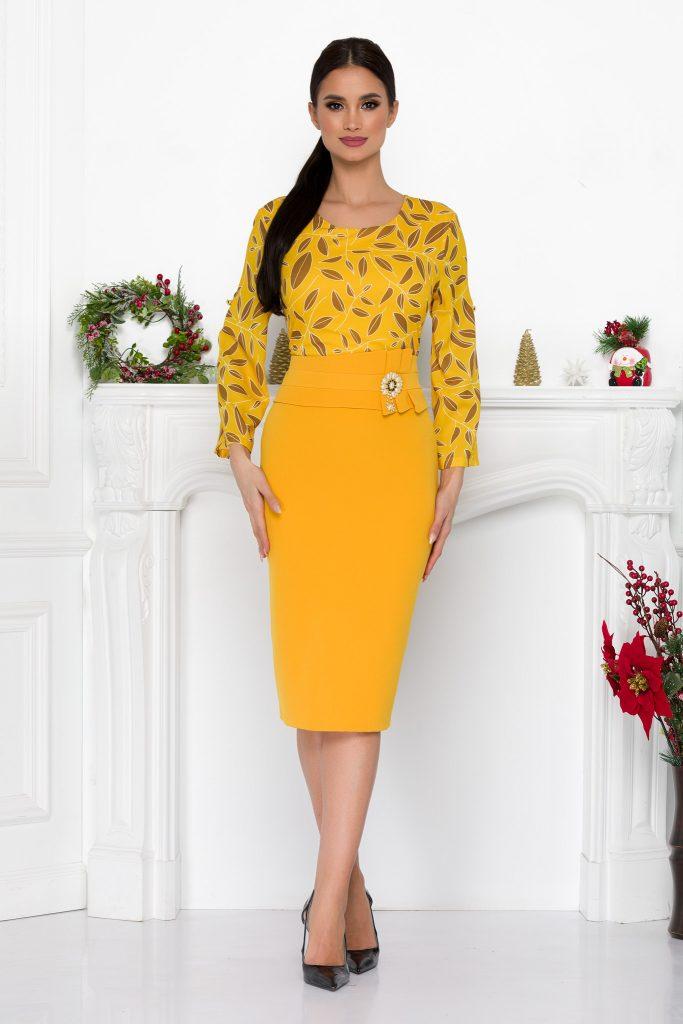 Κίτρινο Φόρεμα   Στυλιστικές Προτάσεις 24