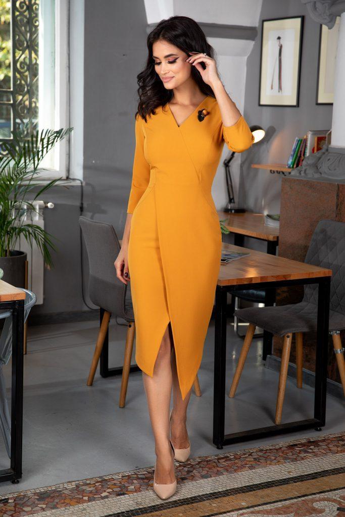 Κίτρινο Φόρεμα   Στυλιστικές Προτάσεις 22