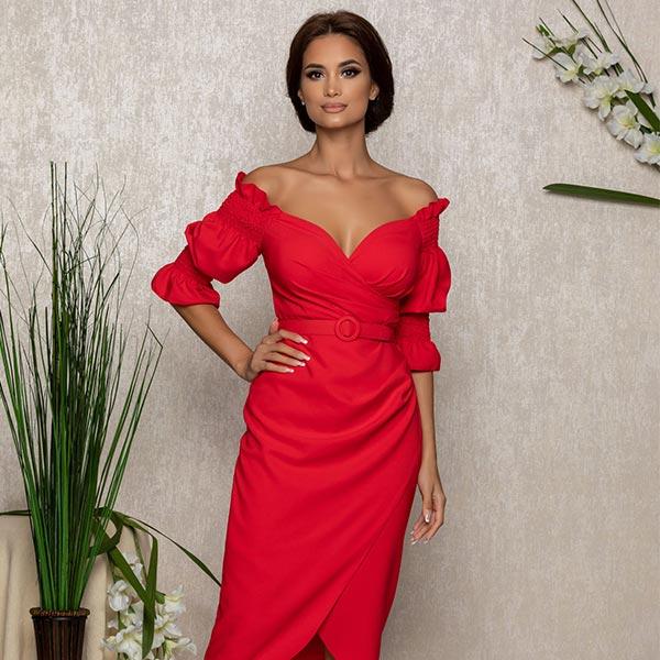 midi luxury dress