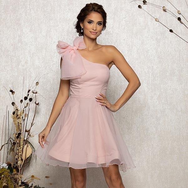nude luxury dress