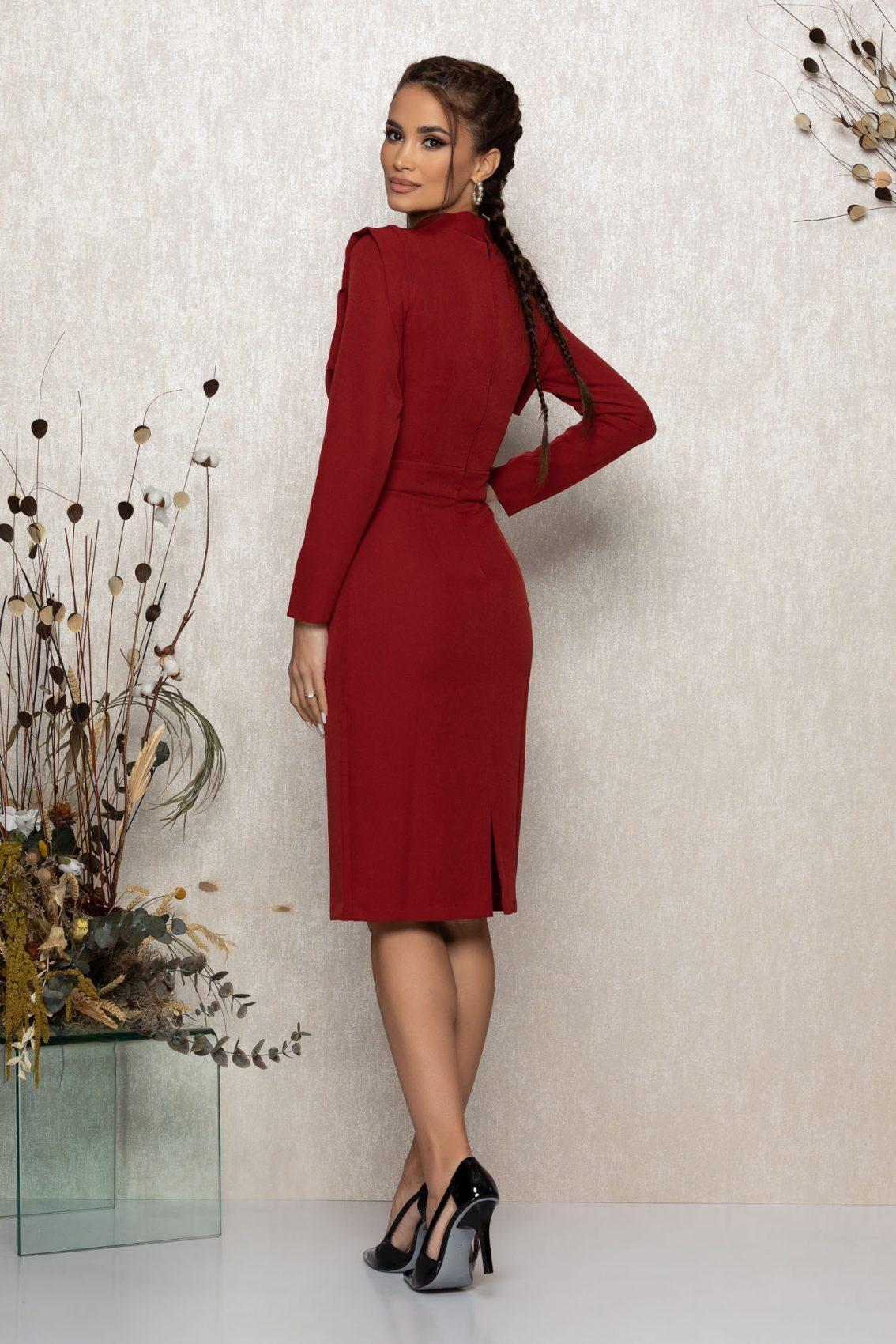 Μίντι Κεραμιδί Φόρεμα Lanna 9476 2