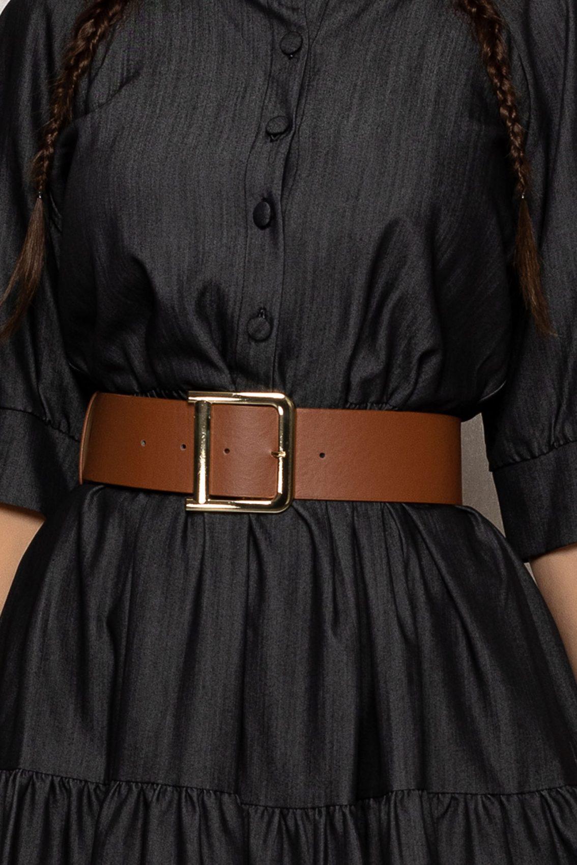 Μαύρο Μίνι Κλος Καθημερινό Φόρεμα Tayana T385 3